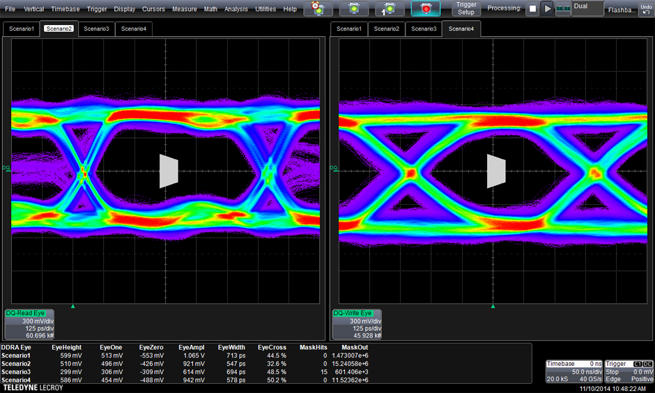 Ddr test suite teledyne lecroy physical layer ddr toolkit ccuart Images