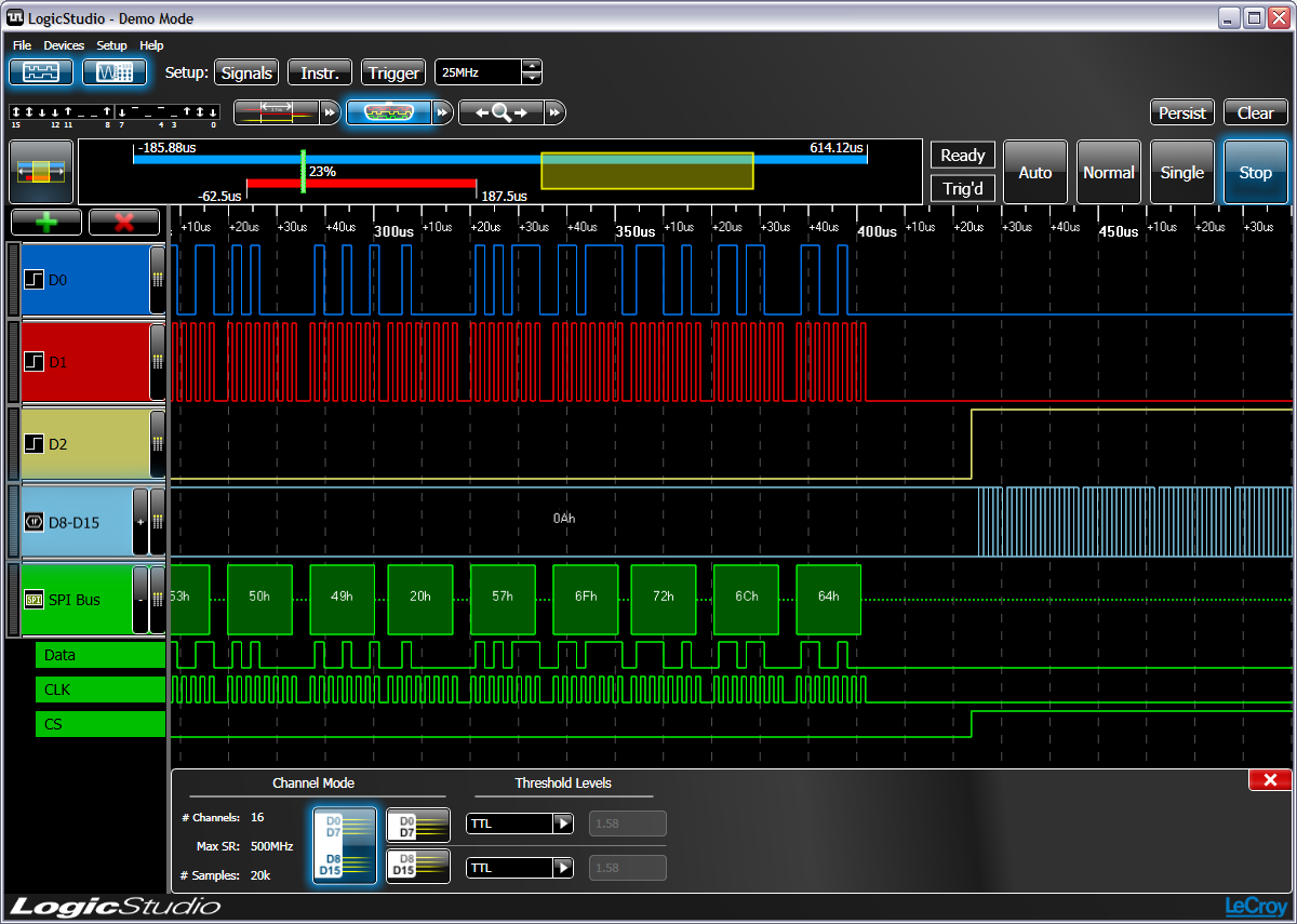 Logic Analyzers Teledyne Lecroy Analyzer Diagram Timing Cursors History Mode And Serial Data Protocol Decoding Help Debug The Most Complicated Problems Simple Mouse Operations Control Every Aspect Of
