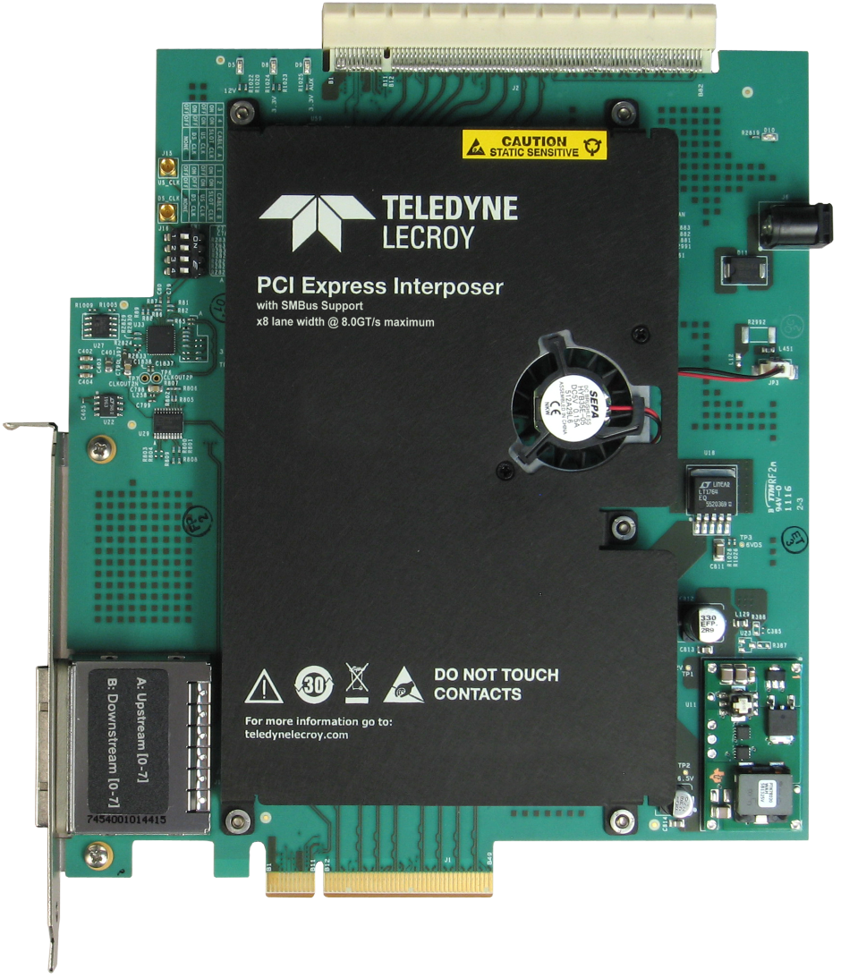 Teledyne lecroy protocol analyzer interposers and probes pci express 30 interposer with smbus support datasheet sciox Images