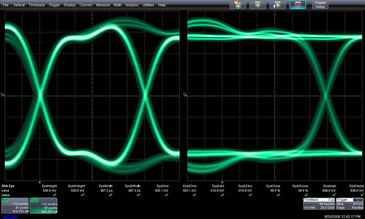 Teledyne lecroy serial data sda ii ccuart Images