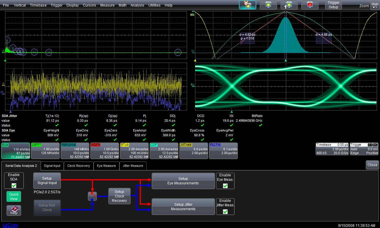 Teledyne lecroy sda ii software psi solutions inc ccuart Images